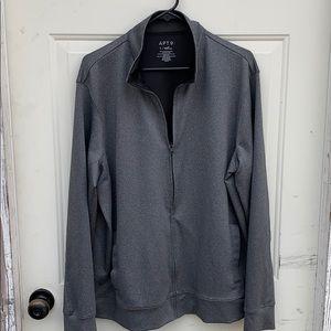 L Heiq Smart Temp sport zip-up sweater
